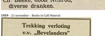 Verkoop Nimrod door van Splunter aan Beeke