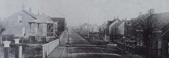 De muziektent naast kavel Veerweg 164
